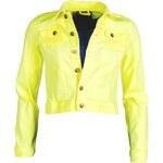 Dámská neonově žlutá bunda SUBLEVEL - vel. L