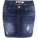 Tmavě modrá džínová sukně Noisy May Lusa