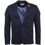 Tmavě modré pánské sako Mr Marcel Valega