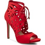 Sandály GUESS - Anny FLANN2 LEA03 RED