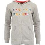 Světle šedá mikina Little Marcel Shop