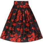 Retro sukně Lindy Bop Marnie Samá růže Velikost: 38