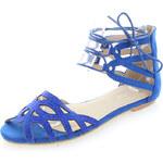 Tom&Eva Modré sandály Giggy