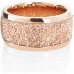 Esprit red gold stainless-steel ring