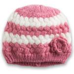 Esprit Měkká pletená čepice s proužky