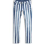 Esprit Pruhované džíny z bavlny/streče