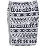 Bílá sukně s modrým vzorem vzorem ONLY Olympia