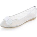 Stříbrné balerínky XTI 45037
