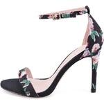 Květované sandálky na podpatku ALDO Paules