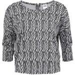 Černo-bílý vzorovaný top Vero Moda Wood