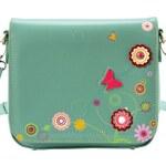 Vendula London Funky Floral Butterfly Mini Clutch Bag