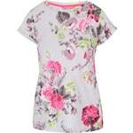 Šedé květované dámské tričko Tom Joule Nessaprint
