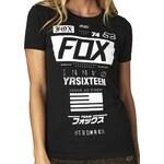 FOX Tričko Fox Union black