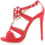 Sergio Todzi Červené sandály Lady