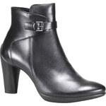 Ecco Kožená kotníčková obuv