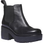 Vagabond Kožené kotníkové boty na výrazné podešvi