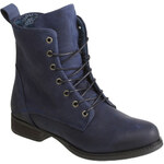 Baťa Zimní kotníkové boty kožené