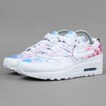 Nike WMNS Air Max 1 Print white / white - university blue (cherry blossom)