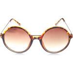Tally Weijl Braune, runde Sonnenbrille