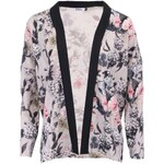 Béžové květované kimono ONLY Eah
