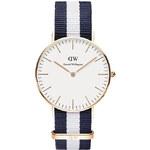 Dámské modro-bílé hodinky Daniel Wellington 0503DW Classic Glasgow