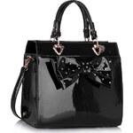 LS Fashion kabelka LS00384 černá