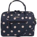 Tmavě modrá kabelka s puntíky Cath Kidston