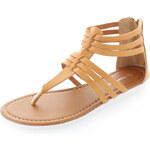 Comfy Hnědé sandály Fulvio