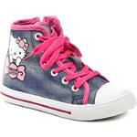Dětská obuv Hello Kitty HK001213 modro růžové dívčí tenisky
