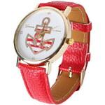 Dámské hodinky s kotvou
