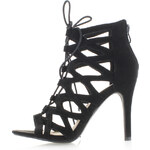 Belle Women Černé sandály Simira