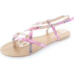 Belle Women Růžové sandály Gormie