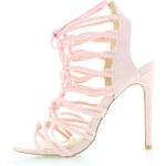 Bebo Světle růžové sandály Shane