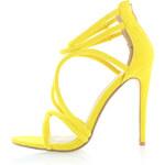 Bebo Žluté semišové sandály Tara 4