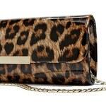 Guess kabelka Famous Leopard Long Clutch