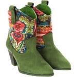 Desigual Dámská kotníčková obuv, 27AS115-4079_Verde-multicolor