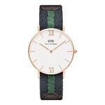 Dámské modro-zelené hodinky Daniel Wellington 0553DW Grace Warwick