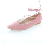Vices Světle růžové balerínky Annushka
