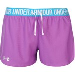 Under Armour Play Up Shorts Womens, mega magenta