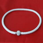 Lesara Magnet-Collier - Weiß