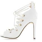 United Fashion Bílé lodičky Lilien