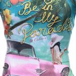 Lesara Herren-T-Shirt Be In My Paradise - Weiß - M