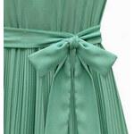 Lesara Ärmelloses Kleid mit Taillenband - Grün - S