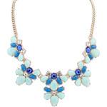 Lesara Statement-Halskette in Pastellfarben - Blau