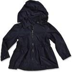 Blue Seven Dívčí jarní bunda s kapucí - tmavě modrá