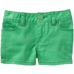 Gap Denim Shorts - Parrotfish green