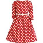Lindy Bop Mini Holly Red Polka