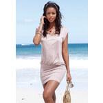 BEACH TIME Dlouhé dámské tričko, Beachtime hnědošedá