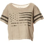 Best Mountain Crop Top - taupe