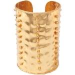 Silvia Toledano Massai - Bracelet manchette - doré